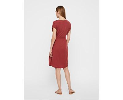 Dámske šaty Ava Plain Ss Knee Dress Vma Sepia Rose