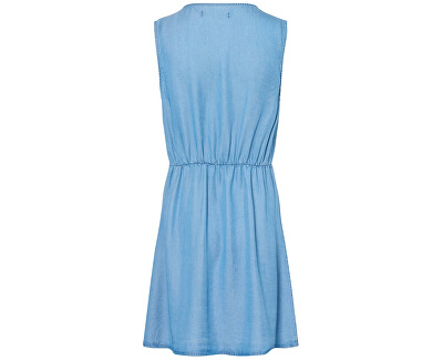 Női ruhaCoco Mia Sl Short Dress Ga Medium Blue Denim