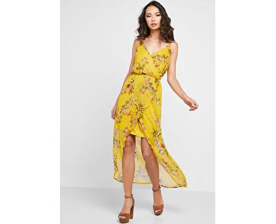Dámske šaty Wonda Mandana Maxi Dress Exp Lemon Curry