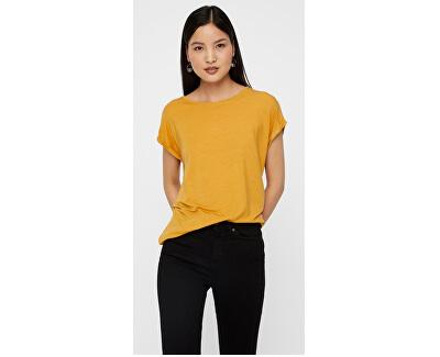 Dámske tričko Ava Plain Ss Top Ga Noos Amber Gold