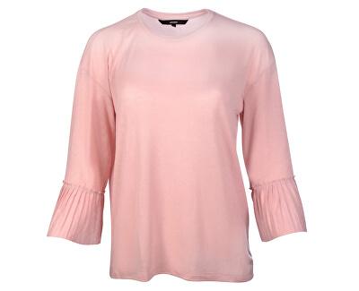 Tricou pentru femei Jakuri 3/4 Cuff Frill Top D2-2 Zephyr Melange