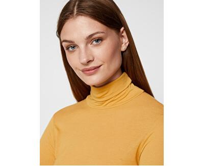 Dámsky sveter VMCLARA L/S ROLL NECK GA VO Amber Gold