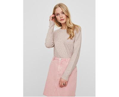 Doamnelor pulover VMDOFFY LS O-neck Bluză GA Noos Wood rose de Wood rose Melange