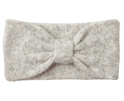 Dámska čelenka VMTRINE WOOL Headband Light Grey Melange