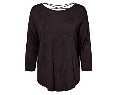 Dámsky sveter VMRAINI NEW 3/4 STRING Blouse Black