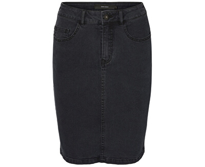 1ad5c4d53ba2 Vero Moda Dámská sukně Hot Nine Hw Dnm Pencil Skirt Mix Dark Grey Washed