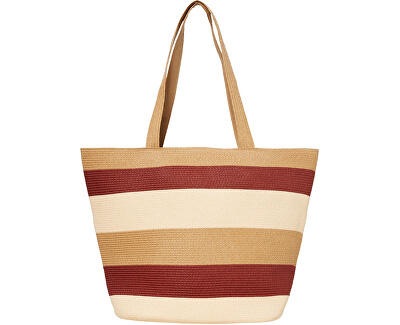 Frauentasche VMFREYA STRAW BAG Creme Brulee