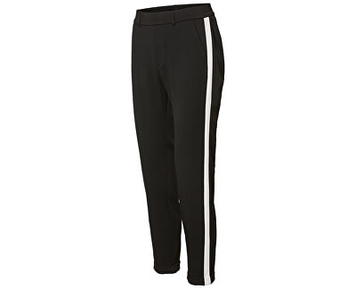 Dámské kalhoty Maya Mr Loose Panel Pant Black W White Panel