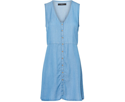 Női ruha Coco Mia Sl Short Dress Ga Medium Blue Denim