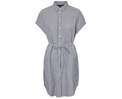 SLEVA - Dámské šaty Jane Sl Abk Shirt Dress Wvn Ki Snow White Night Sky