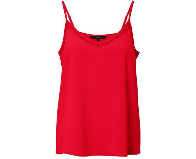 Női trikóSasha Lacey Singlet Color Chinese Red