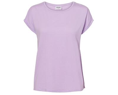 Női pólóAva Plain Ss Top Ga Color Lavendula