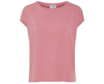 Dámske tričko Ava Plain Ss Top Ga Noos Mesa Rose