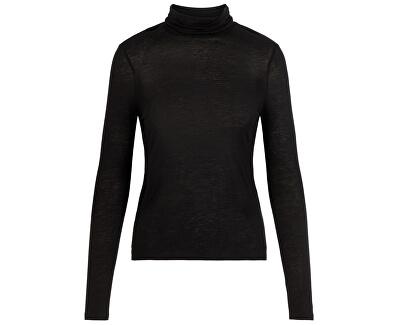 Dámsky sveter VMCLARA L/S ROLL NECK GA VO Black