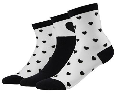 Női zokni szett VMVALENTINE SOCK GIFTBOX
