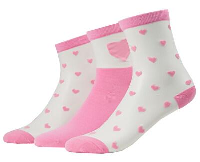 Női zokni szett VMVALENTINE SOCK GIFTBOX Sea