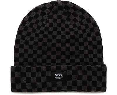 Čiapka Mte Cuff Beanie Black Checkerboard VN0A3HJ9BKC1
