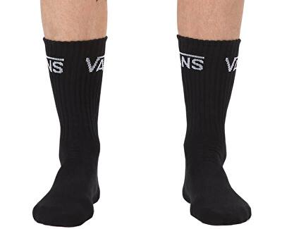 3 PACK - pánské ponožky Classic Crew Black VN000XSEBLK1