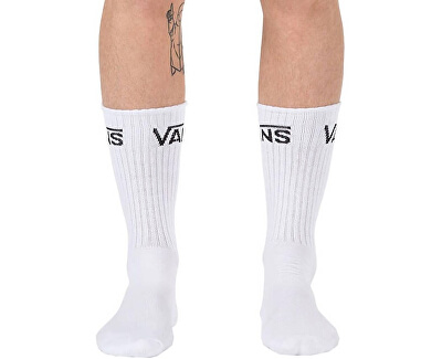 Balení 3ks ponožek Classic Crew White VN000XSEWHT1