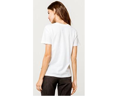 Dámske tričko Boxed Botanic White VN0A47WIWHT1