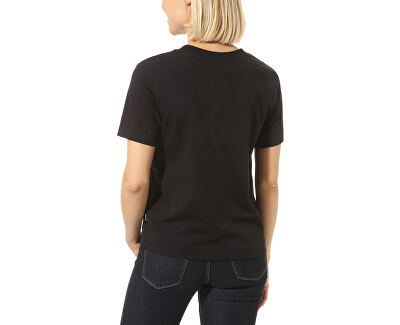 Tricou pentru femei WM Junior V Boxes Black VN0A4MFLBLK1