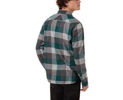 Pánska košeľa Box Flannel Vans Trek king Grn / Gryhthr VN000JOGTMS1