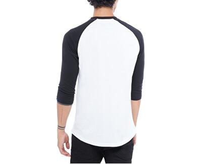 Pánske tričko Otw Raglan White/Black VN000XXMYB21