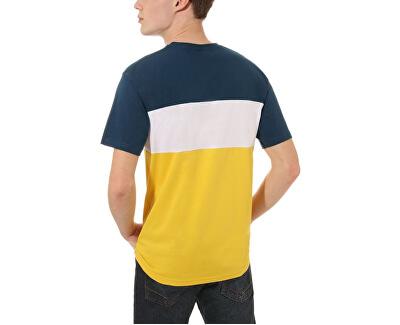 Pánske tričko Retro Active Ss Gibraltar Sea/Sulphur VN0A45B7TOJ1