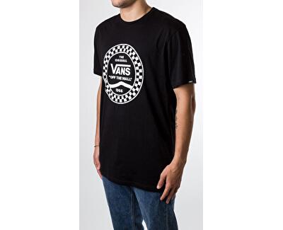 Pánské triko Vans Side Stripe S/S Black VN0A468VBLK1