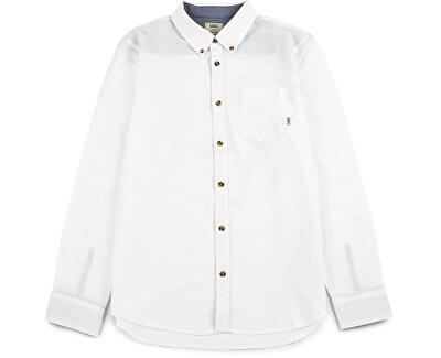 Pánská košile Houser Ls White V000MZWHT