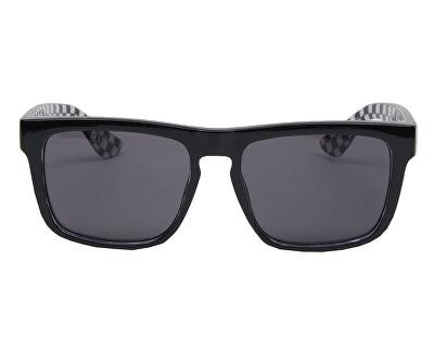 Pánske slnečné okuliare Squared Off Black/Checkerboard VN00007E95Y1