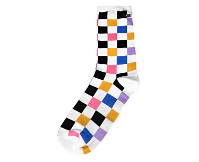 Ponožky Ticker Sock Multi Check VN0A49ZDJ4E1