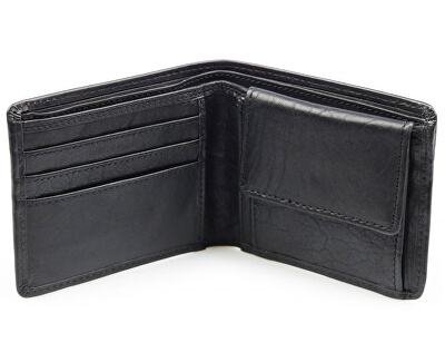 Kožená peňaženka Gordon čierna
