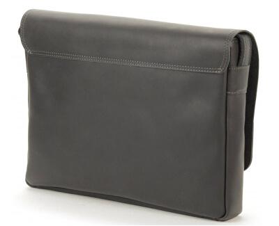 Kožená taška street - Crazy černá