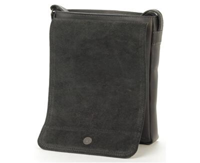 Kožená taška touch - Crazy černá