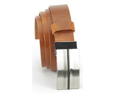 Kožený opasok 9501 hnedý