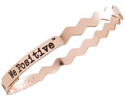We Positive Kovový náramek Friends Wave FR010 Rose Gold