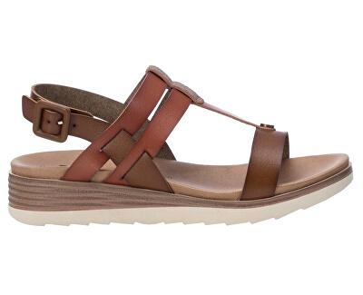 Dámske sandále 49845 Camel