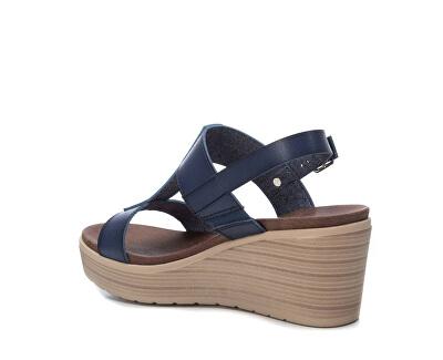 Dámské sandále Navy Pu Ladies Sandals 49868 Navy