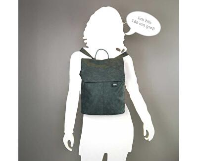 Női hátizsák Mademoiselle M. MR14 -nubuk- blue