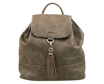 Női hátizsák Conny CYR8-vászon-bazalt