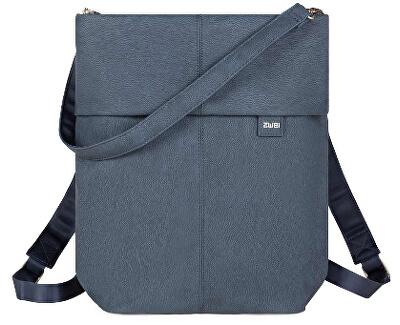 Női hátizsák Mademoiselle M. MR12 -nubuk- blue