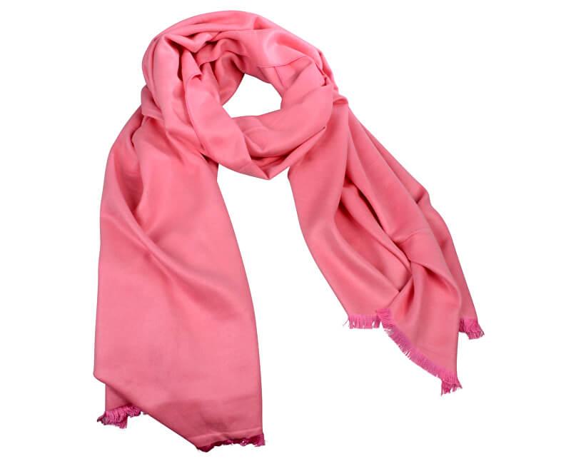 Art of Polo Dámský hedvábný šátek Islandia - růžový sz16308.2
