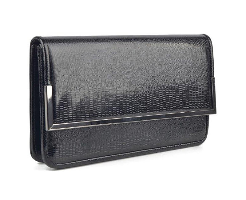 Barolo Elegantná čierna listová kabelka 1838  62507b7440b