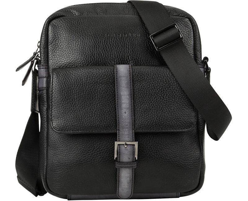 d4ada26947741 Bugatti Tasche für Männer crossbody Citta 49304501 Black GRATIS ...