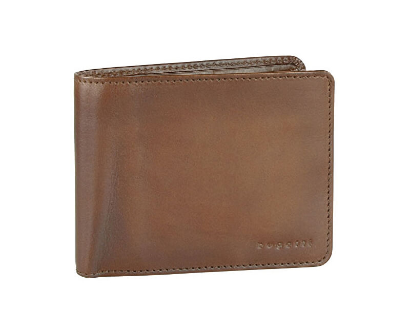 Bugatti Men´s leather wallet Domus RFID 49322907 Cognac