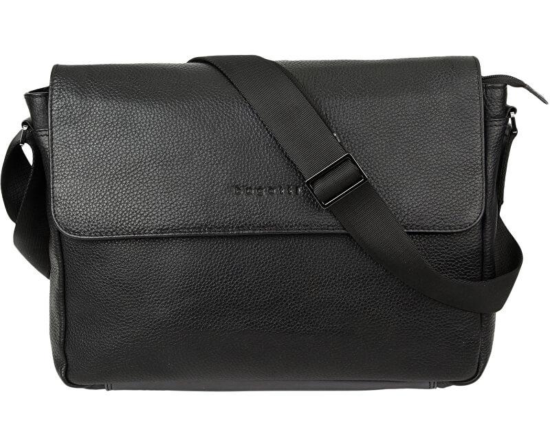 bcda414f3237a Bugatti Pánska taška na notebook Citta 49304601 Black Doprava ZDARMA ...