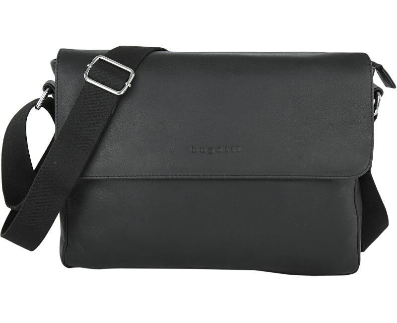 1690dbc3a4722 Bugatti Pánská taška na notebook Segno 49548301 Black Doprava ZDARMA ...