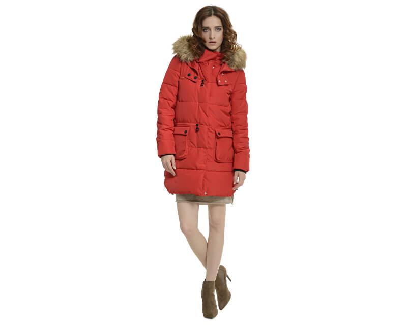 Biston-Splendid SLEVA - Dámská červená bunda 36101070.030