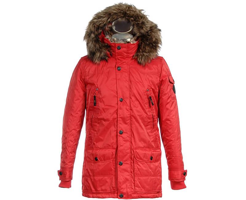 Biston-Splendid Pánská červená bunda 36201036.030